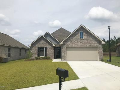 Ocean Springs Single Family Home For Sale: 459 Palm Breeze Dr