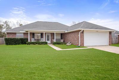 Gulfport Single Family Home For Sale: 14353 Beechwood Cv
