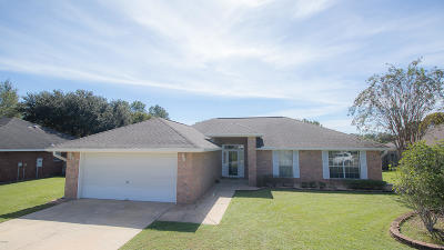 Gulfport Single Family Home For Sale: 14277 Mosswood Dr