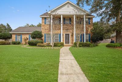 Ocean Springs Single Family Home For Sale: 3819 Cabildo Pl