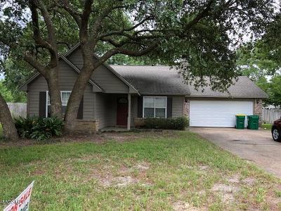 Ocean Springs Single Family Home For Sale: 8508 Neptune Ave