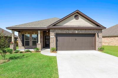 Ocean Springs Single Family Home For Sale: 1258 Lilac Cove