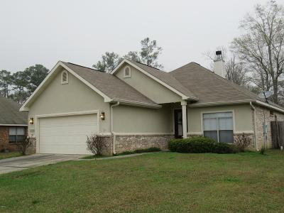 Gulfport Single Family Home For Sale: 13668 Hidden Oaks Dr