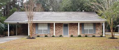 Ocean Springs Single Family Home For Sale: 1605 S 7th St