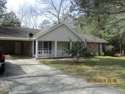 Diamondhead Single Family Home For Sale: 98191 Golf Club Dr