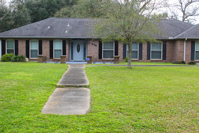 Gulfport Single Family Home For Sale: 805 Dudley St