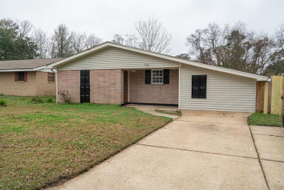 Gulfport Single Family Home For Sale: 725 Carter Dr