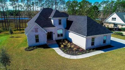 Ocean Springs Single Family Home For Sale: 10002 W Sanctuary Blvd