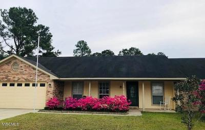 Ocean Springs Single Family Home For Sale: 11417 Wedgewood Ln