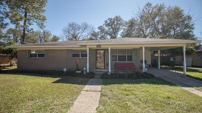 Gulfport Single Family Home For Sale: 2222 Milner Blvd