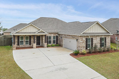Gulfport Single Family Home For Sale: 20095 Mulligan Cv