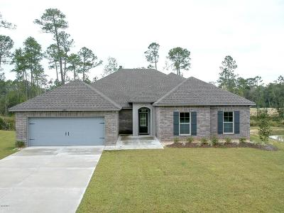 Ocean Springs Single Family Home For Sale: 11648 Brookstone Dr
