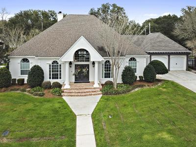 Ocean Springs Single Family Home For Sale: 3 Schooner Ln