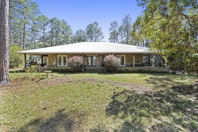 Ocean Springs Single Family Home For Sale: 11701 Jim Ramsay Rd
