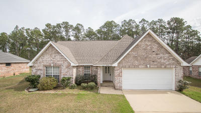 Ocean Springs Single Family Home For Sale: 10696 Serene Cv