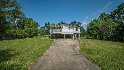 Ocean Springs Single Family Home For Sale: 8500 Simmons Bayou Dr
