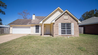 Biloxi Single Family Home For Sale: 15512 Lyda Steen Dr