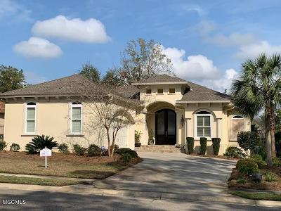 Ocean Springs Single Family Home For Sale: 5604 Via Ponte
