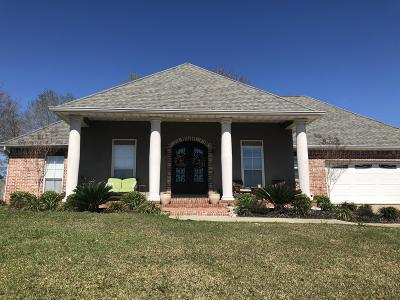 Gulfport Single Family Home For Sale: 15439 Overlook Dr