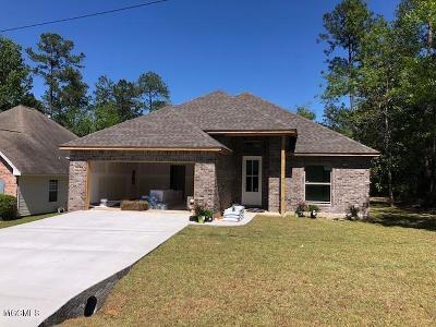 Diamondhead Single Family Home For Sale: 8542 Op La Way