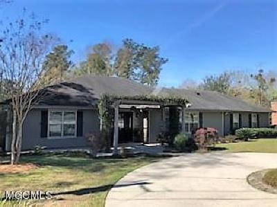 Diamondhead Single Family Home For Sale: 942 Lae Pl