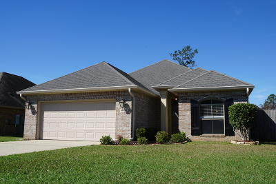 Gulfport Single Family Home For Sale: 13057 Oakberry Ln
