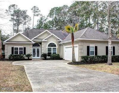 Diamondhead Single Family Home For Sale: 7426 Mahalo Hui Dr