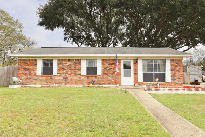Gulfport MS Single Family Home For Sale: $119,000
