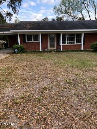 Gulfport Single Family Home For Sale: 27 Woodglen Dr