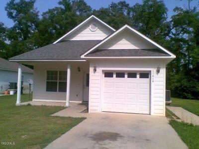 Gulfport Single Family Home For Sale: 11614 Oaklane Dr