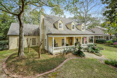 Gulfport Single Family Home For Sale: 4 Bayou Pl