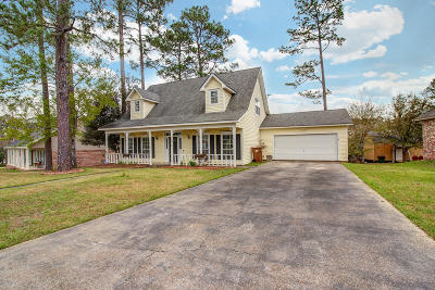 Gulfport Single Family Home For Sale: 12614 Lake Village Dr