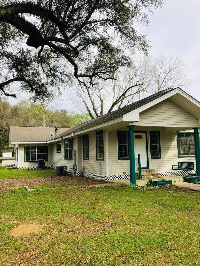 Gulfport Single Family Home For Sale: 15394 County Farm Rd