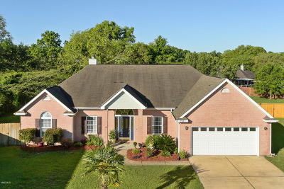 Ocean Springs Single Family Home For Sale: 7921 Rue Madison