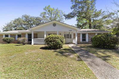 Ocean Springs Single Family Home For Sale: 1100 Le Voyageur Dr