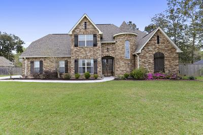Ocean Springs Single Family Home For Sale: 6108 Olde Magnolia Dr