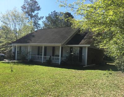 Saucier Single Family Home For Sale: 19633 W Wortham Rd