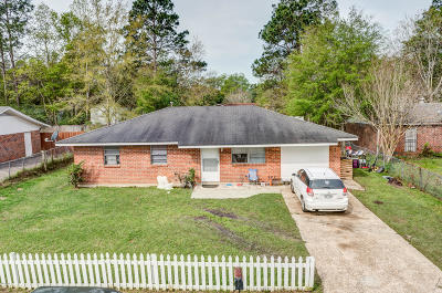 Gulfport Single Family Home For Sale: 709 Shirley Dr