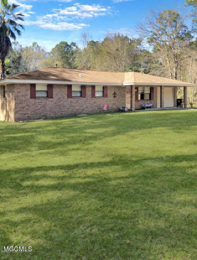 Biloxi Single Family Home For Sale: 12165 Oaklawn Rd