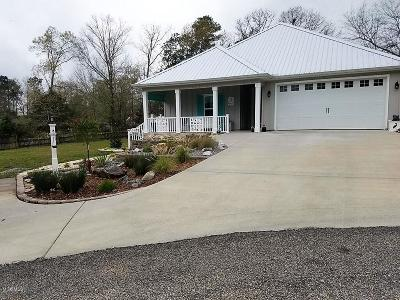 Diamondhead Single Family Home For Sale: 888 Maili Pl