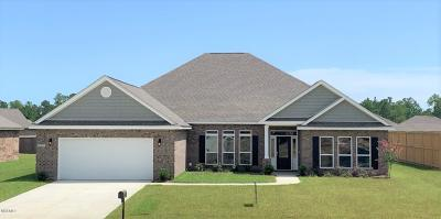 Biloxi Single Family Home For Sale: 9097 River Birch Dr