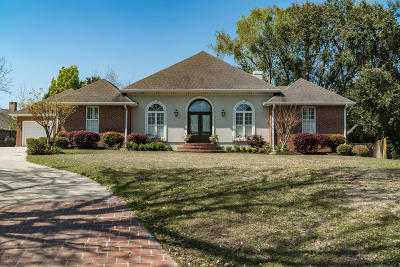 Biloxi Single Family Home For Sale: 496 Cove Dr