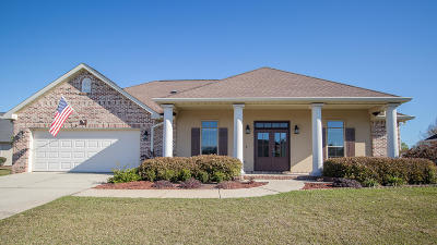 Gulfport Single Family Home For Sale: 15353 Overlook Dr