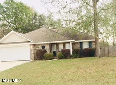 Ocean Springs Single Family Home For Sale: 7310 W Falcon Cir