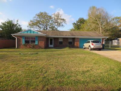 Biloxi Single Family Home For Sale: 16208 Linten Dr
