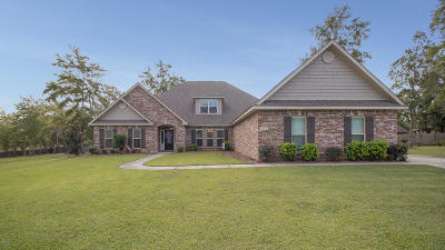 Biloxi Single Family Home For Sale: 7815 Zachary Oaks Dr