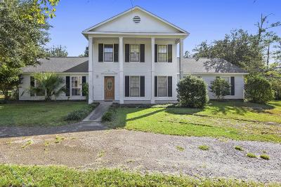 gulfport Single Family Home For Sale: 16035 W Dedeaux Rd