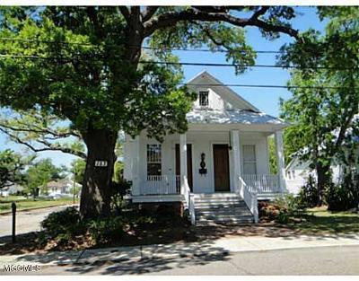 Biloxi Single Family Home For Sale: 127 Seal Ave