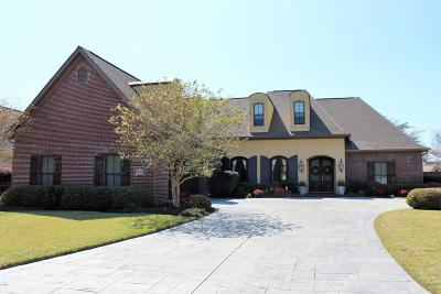 Ocean Springs Single Family Home For Sale: 5507 Chalone Pl