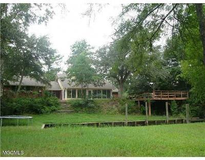 Diamondhead Single Family Home For Sale: 8324 Maunalani Pl